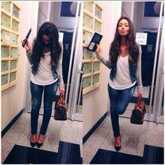 Fashion Style Inspiration #Outfit #jeans
