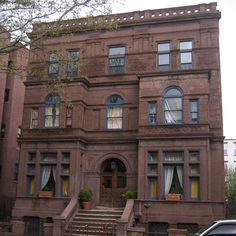 247 hancock..We took a drive around Bed Stuy on Sunday just for kicks and had to pull over and take a shot of this grand old home at 247 Hancock Street.