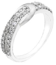 Diamond Ring, .50 Carat Diamonds on 14K White Gold