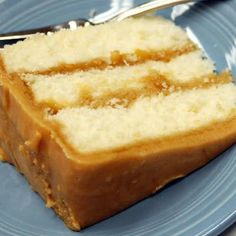 Welcome Home: ♥ Caramel Cake--old fashioned