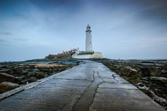 https://flic.kr/p/CqvzSy | Pathway To St. Mary's. | Taken at Whitley Bay, North…