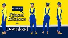Pijama Minions  #minion #minions #pijama #cc #cp #download #sweat #top #conteudopersonalizado #katsims