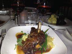 Lamb shank.  Toronto's BODEGA Restaurant.  Winterlicious 2013.