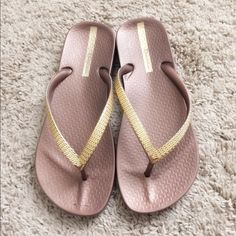 Ipanema flip flops! These are so comfortable!!! Never worn! Best flip flops ever! Great brand! Ipanema Shoes Sandals