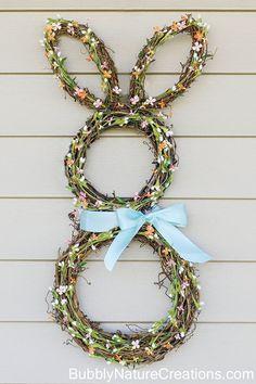 Bunny Wreathcountryliving