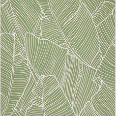 Papier peint vinyle graine sur intiss feuilles bleu - Peinture ecologique castorama ...
