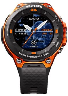 #Casio Pro Trek Smart WSD-F20 – Outdoor #GPS #Watch with #Android Wear 2.0
