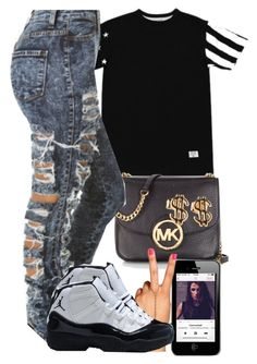"""""""And I said I could never lie to you but you know I always do Is it the same as before? And miserys like a hearse, cos you know where you're going✩"""" by polyvoreitems5 ❤ liked on Polyvore featuring Michael Kors"""