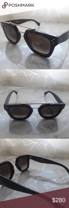 a9fed7fb58a1 NEW CELINE CL 41077 S 086Z3 NEW ORIGINAL CELINE SUNGLASSES  IN ORIGINAL  CASE AND