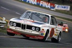 Niki Lauda in the BMW 3.0 CSL that he shared with Hans-Joachim Stuck during the 1973 Spa 24 Hrs.