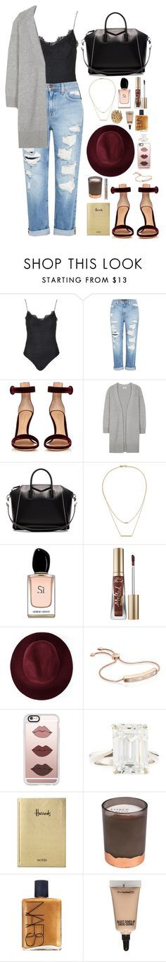 """""""If Olivia Pope was hipster that is how she would dress"""" by emmeleialouca ❤ liked on Polyvore featuring Topshop, Genetic Denim, Gianvito Rossi, Acne Studios, Givenchy, Kacey K Fine Jewelry, Armani Beauty, Too Faced Cosmetics, Redopin and Monica Vinader"""
