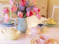 Pretty Pastel Easter Table