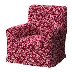 IKEA EKTORP JENNYLUND armchair cover -  Appleryd Red  #IKEA