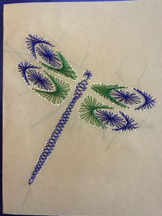 Paper Embroidery, Embroidery Techniques, Embroidery