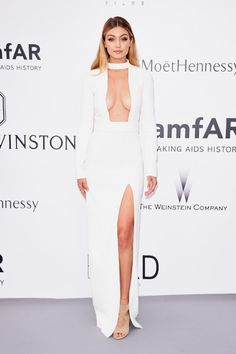 See All of the Best Red Carpet Looks from Cannes—Gigi Hadid in Tom Ford