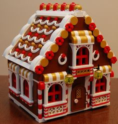 Lego gingerbread house | I may change the clear bricks in th… | Flickr