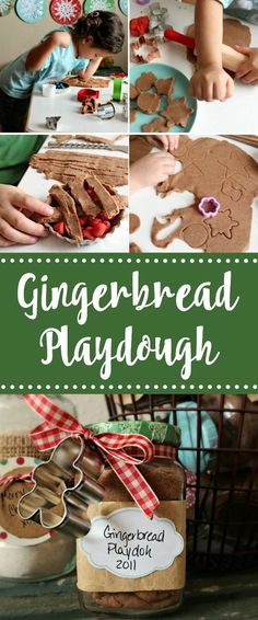 Gingerbread Playdough – The Sweet Adventures of Sugar Belle