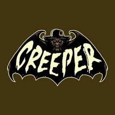 Creeper by BazNet - Get Free Worldwide Shipping! This neat design is available on comfy T-shirt (including oversized shirts up to ladies fit and kids shirts), sweatshirts, hoodies, phone cases, and more. Free worldwide shipping available. Jeepers Creepers, Scary Movies, Horror Movies, Slasher Movies, Cartoon Bat, Horror Drawing, Horror Icons, Danse Macabre, Arte Horror