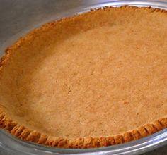 Pie Crust:  3 T. flax seed meal OR 1.5 T. Chia Seed meal,  1/4 c. plus 2 T. applesauce,  1 T. apple cider vinegar,  8 drops vanilla liquid stevia,  1 T. honey, and  1/4 c. coconut oil.