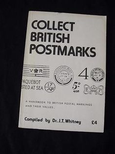 Collect British Postmarks by Dr Whitney 1979 | eBay