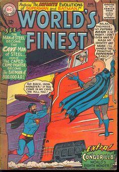 Batman primitivo vs Superman super inteligente