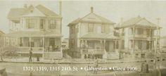 Galveston, Texas Silk Stocking District circa 1906!