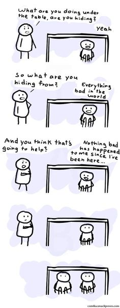 Childhood logic...