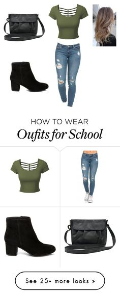 back to school style by maychic on Polyvore featuring LE3NO, MCo and Steve Madden