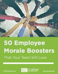 50 Employee Morale Boosters Your Team Will Love Employee Rewards, Incentives For Employees, Employee Morale, Employee Appreciation Gifts, Employee Incentive Ideas, Volunteer Appreciation, Team Morale, Teacher Morale, Staff Morale