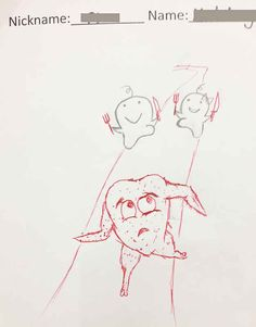 This Teacher Adds To His Students' Doodles On Their Work And The Finished Pictures Are Splendid