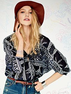 Free People Second Thoughts Top