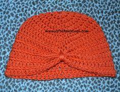 Crochet Turban Hat (All sizes) - The Yarn Box The Yarn Box