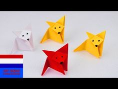 27 Creative Photo of Diy Origami Easy . Diy Origami Easy How To Make An Origami Fox Super Easy Super Cute Paper Ideas Origami Design, Diy Origami, How To Make Origami, Origami Tutorial, Tulip Origami, Paper Folding Crafts, Paper Crafts For Kids, Diy Crafts, Origami Fox Face