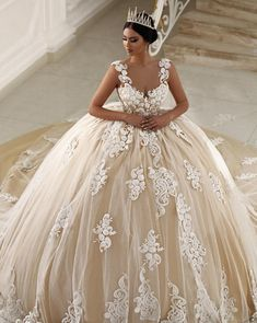 """""""Parukeri Estetike Merita Wedding Dresses We love wedding dresses that are feminine with an edge, chic, and stylish with enchanting details. The kind of dresses that capture a romantic and eclectic aesthetic, and just scream """"magic"""" to us. Their..."""