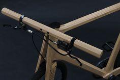Paul Timmer fiets van hout 1