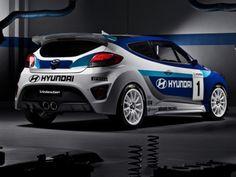 Hyundai Veloster Racing Concept.