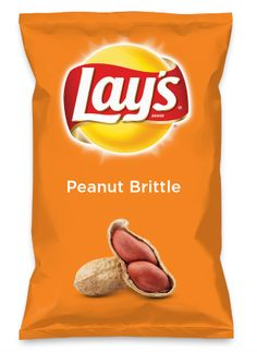 Wouldn't Peanut Brittle be yummy as a chip? Lay's Do Us A Flavor is back, and the search is on for the yummiest flavor idea. Create a flavor, choose a chip and you could win $1 million! https://www.dousaflavor.com See Rules.