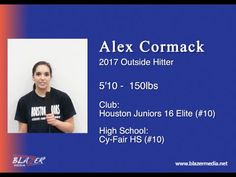 2017 OH/RS Alex Cormack - Volleyball Recruiting Skills Video - IBOtube