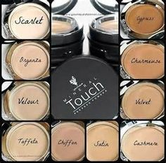 This Mineral Touch Pressed powder foundation goes on beautifully and is well matched to our Glorious Primer x