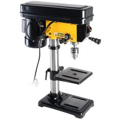 Small Drill Press, Drill Press Stand, Woodworking In An Apartment, Woodworking Bench, Router Table Reviews, Drilling Machine, Hammer Drill, Wood Cutting, Stainless Steel