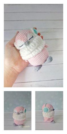 Crochet Penguin, Crochet Animal Amigurumi, Crochet Amigurumi Free Patterns, Crochet Animal Patterns, Stuffed Animal Patterns, Crochet Blanket Patterns, Knitting Patterns, Crochet Crafts, Crochet Toys