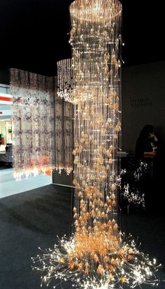 Gorgeous Chandeliers at Sharon Marston at #MayDesign