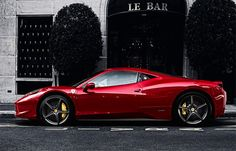 Ferrari 458 Italia. Gladly would drive one, but worry about texting whilst driving it. So, stick to my banged up Cayenne S?