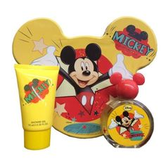 Childrens Fragrances: Mickey Mouse Disney ~ 2 Pc Kids Boy Gift Set 1.7 Oz 50 Ml Edt ~ Cologne Nic ! -> BUY IT NOW ONLY: $31.5 on eBay!