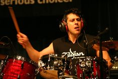 Found on Bing from en.wikipedia.org Mike Mangini, Hard Rock, Dream Theater, High Quality Images, Drums, Music Instruments, Thoughts, Concert, Percussion