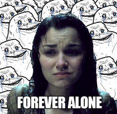 Forever Alone Eponine // Click for more Les Misérables Memes