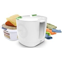 StoreBound Laundry Pod Non-Electrical Compact Portable Washer in White-LP001WHT at The Home Depot