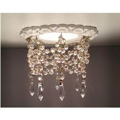 Decorative Recessed Light Trims - interesting concept.