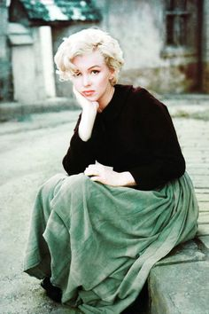 Marilyn Monroe by Milton Green