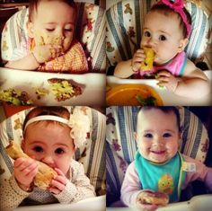 Baby Led Weaning : This site has TONS of recipes for baby led weaning that are great for the whole family.....and the little girl is adorable too.
